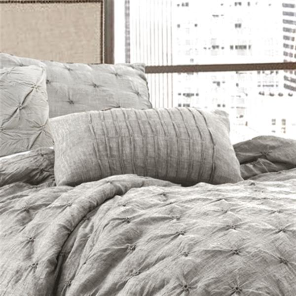 Lush Decor Ravello Pintuck 5-Piece Comforter Set,16T001140