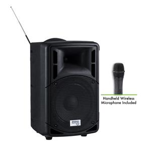 Oklahoma Sound PRA-8000/PRA8 Wireless PA System with Wireles