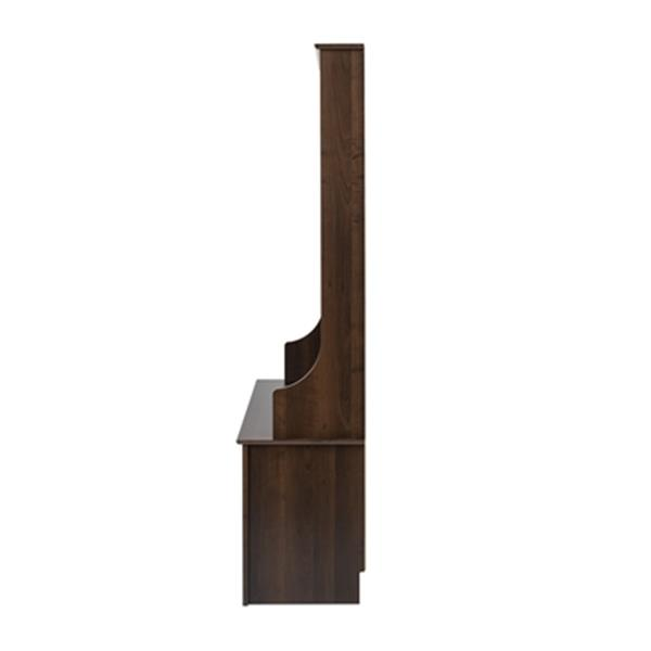 Coat Rack with Shoe Storage - Brown