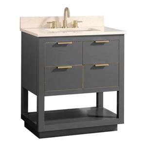 Avanity Allie 31-in Vanity Combo,ALLIE-VS31-TGG-D