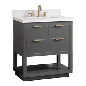 Avanity Allie 31-in Vanity Combo,ALLIE-VS31-TGG-WQ