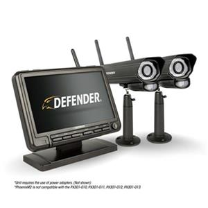 Defender Digital Wireless 7-in Monitor DVR Security System,P