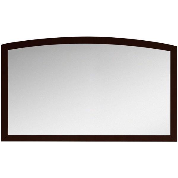 "Miroir Bow, 47,24"" x 25,6"", bois, brown"