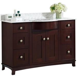 Tiffany Vanity Set  - Single Sink - 48