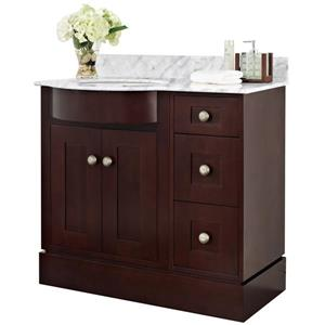 Tiffany Vanity Set  - Single Sink - 37.8