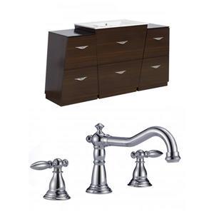 Vee Vanity Set  - Single Sink - 61.75