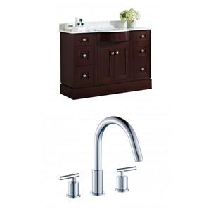 Tiffany Vanity Set  - Single Sink - 48
