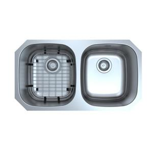 Capri Undermount Double Kitchen Sink - 32