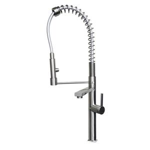 Ancona Acero Kitchen Faucet - Brushed Nickel