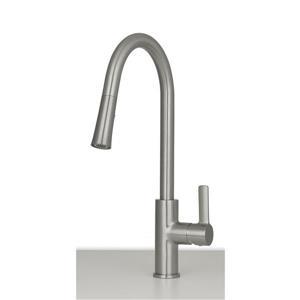 Aria Kitchen Faucet - Brushed Nickel