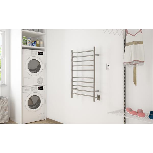 """Porte-serviette chauffant""""Ancona Comfort Dual"""" à 10 barreaux"""