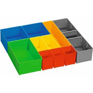 Bosch Organizer Insert Set for i-BOXX - 10 Pieces