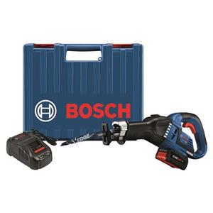 Bosch EC Brushless Recip Saw Kit - 18 V - 1-1/4""