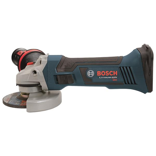 """Rectifieuse angulaire Bosch, 18 volts, 5"""""""