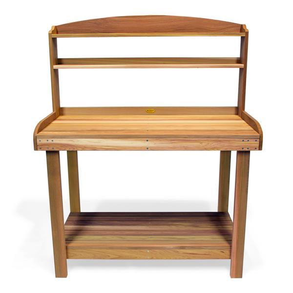 "Table de rempotage All Things Cedar, 47""x 24""x 61"""