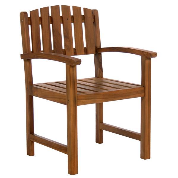 Ensemble de chaises en teck, 7 pièces