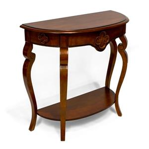 Ornamental Console Table - Cherry - 34