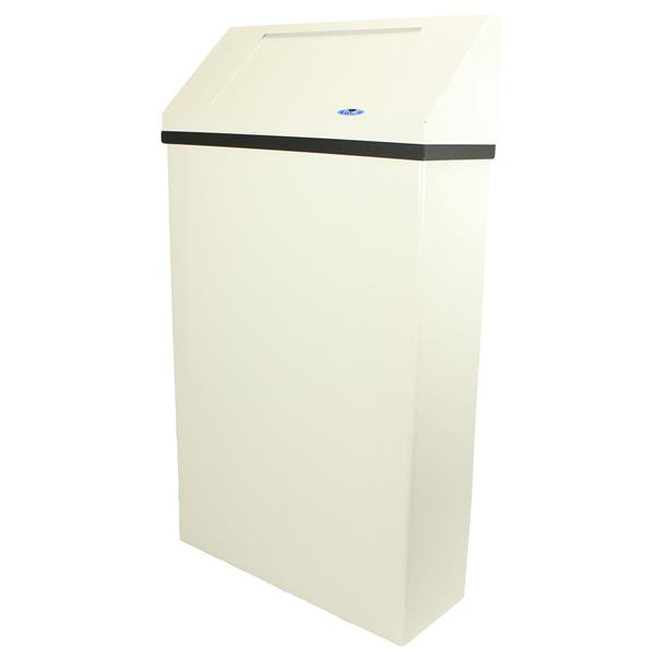 Frost Wall Mounted Waste Receptacle - White