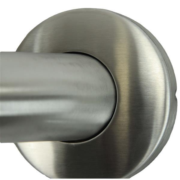 "Barre d'appui, 18"", acier inoxydable"