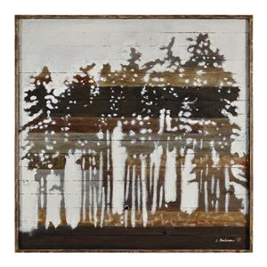 Notre Dame Design Rustic Forest Wall Art - 42