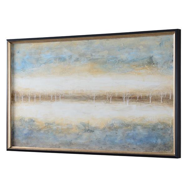 """Notre Dame Design Virgo Wall Art - 30"""" x 50"""" - Canvas -Beige"""