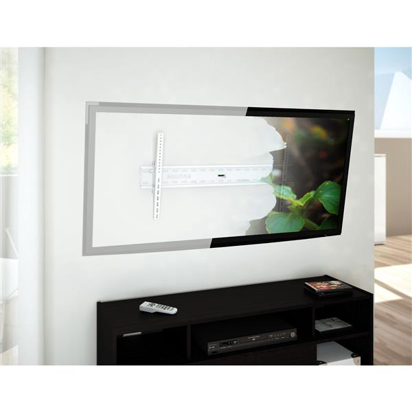 """Support pour télé murale, 37"""" à 70"""", blanc"""