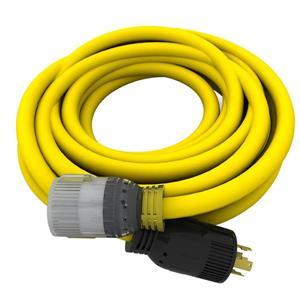 Rallonge électrique de génératrice de 25', 10/4 240V