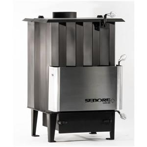 Sedore Stoves Classic 2000 Multi-Fuel Biomass Stove - Black