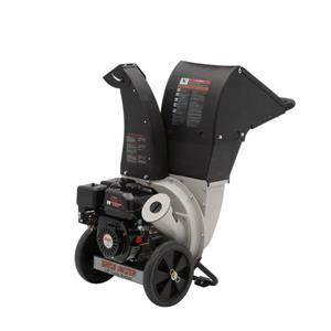 Gas Wood Chipper - Top Discharge -  6.5 HP