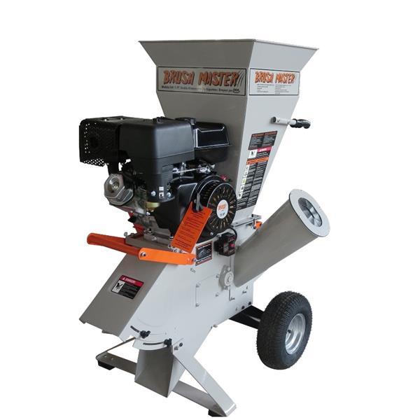Déchiqueteuse à essence, qualité commerciale, 15 hp