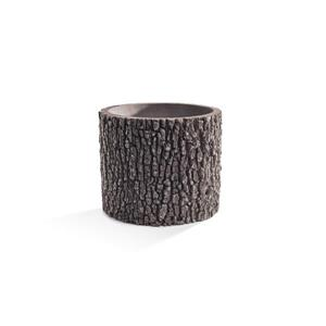 Vertical Oak Planter - 13''