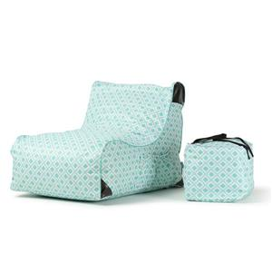 Patio Lounge Chair - Paola Green Tiles