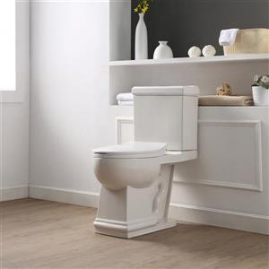 Hermosa 2-piece Elongated Toilet - White