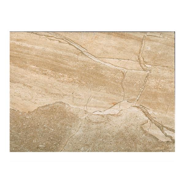 """Tuile Ceramique 13"""" x 19""""  Alpine Stone 18.96 pi2 / boite"""