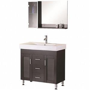 Meuble-lavabo avec miroir Milan, 36
