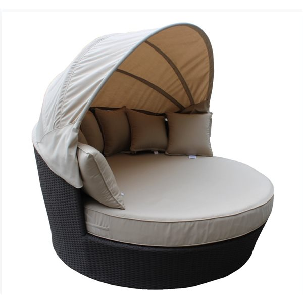 WD Patio Tao Day Bed - Beige