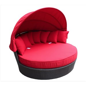 WD Patio Tao Day Bed - Red