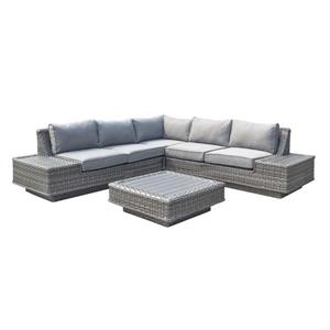 4-Piece Exterior Sofa Set - Beige