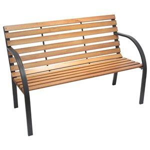 """Henryka Garden Bench - 48'' x 25'' x 32"""" – Espresso"""