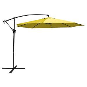 Parasol en porte-à-faux, 10', jaune