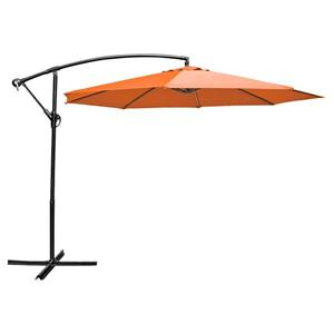 Parasol en porte-à-faux, 10', orange