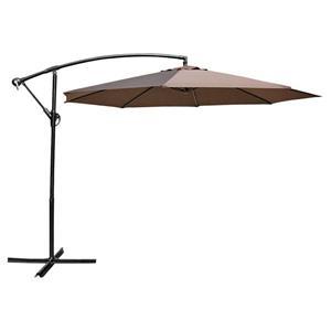 Henryka Cantilever Umbrella - 10' - Chocolate