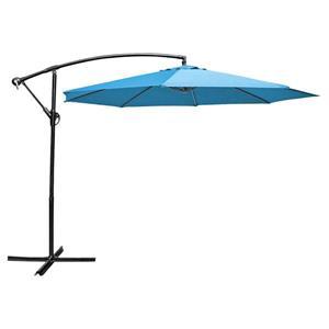 Parasol en porte-à-faux, 10', blue