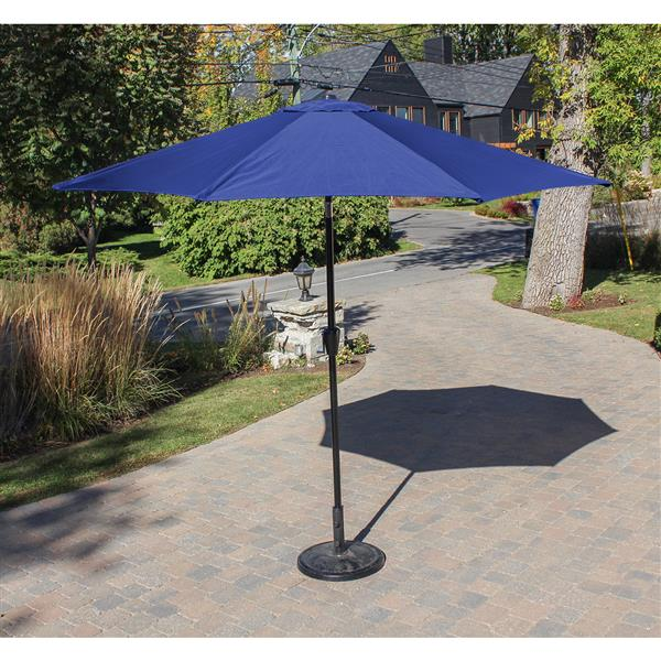 Henryka Tilting Market Umbrella - 9' - Navy