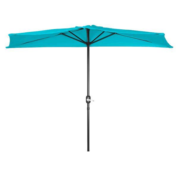 Half Umbrella - 9' - Blue