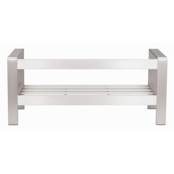 Cosmopolitan Sofa Frame - Brushed Aluminum