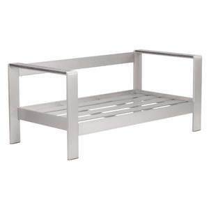 Structure de Sofa Cosmopolitan, aluminium brossé