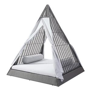 Zuo Modern Albany Daybed - Grey and Light Grey