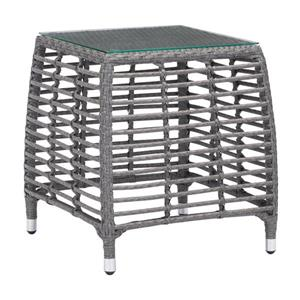 Table d'appoint Trek Beach, gris et beige