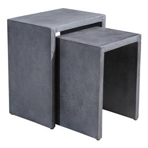 Mom Nesting Side Tables - Cement